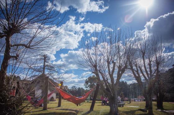 Redário e Por do sol em Campos do Sol